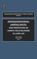 Intergenerational Ambivalences