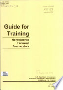 Guide for training