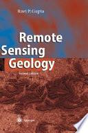 Remote Sensing Geology Book PDF
