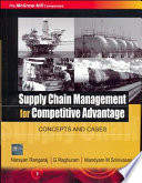 Supply Chain Management For Competitive Advantage Book