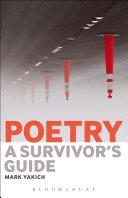 Poetry: A Survivor's Guide Pdf/ePub eBook