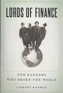 Lords Of Finance Book PDF