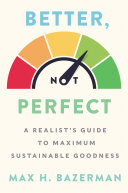 Better, Not Perfect Pdf/ePub eBook