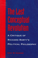 The Last Conceptual Revolution