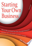 Starting Your Own Business 6th Edition