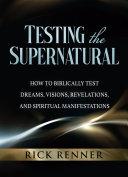 Testing the Supernatural Pdf