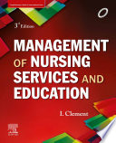 Management Of Nursing Services And Education E Book