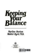 Keeping Your Balance