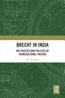 Brecht in India Pdf/ePub eBook
