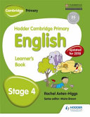 Books - Hodder Cam Primary Eng Sb Stage 4 | ISBN 9781471830266