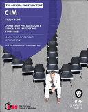 CIM Post grad Diploma