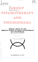 Group Psychotherapy and Psychodrama