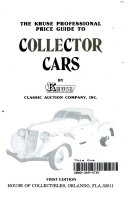 The Kruse Professional Price Guide to Collector Cars