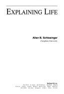 Explaining Life