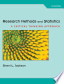 Research Methods and Statistics: A Critical Thinking Approach