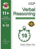 10-Minute Tests for 11+ Verbal Reasoning (Ages 9-10) - CEM Test