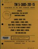 Operator, Organizational, Field, and Depot Maintenance Manual ebook