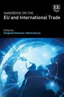 Pdf Handbook on the EU and International Trade Telecharger