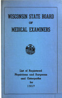 Pdf List of Registered Physicians and Surgeons and Osteopaths
