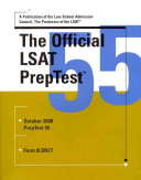 Cover of The Official LSAT Preptest