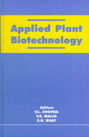 Applied Plant Biotechnology Book