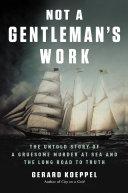Not a Gentleman's Work Pdf/ePub eBook