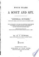 Four Years a Scout and Spy Book