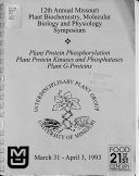 Current Topics in Plant Biochemistry and Physiology