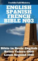 English Spanish French Bible No3