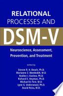 Relational Processes and DSM V