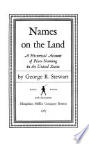 Names on the Land