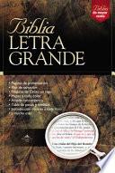 Biblia Letra Grande-RV 1960