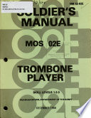 Trombone Player Book