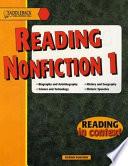 Reading Nonfiction 1 Book