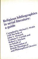 Religious Bibliographies In Serial Literature