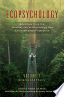 Ecopsychology Advances From The Intersection Of Psychology And Environmental Protection 2 Volumes