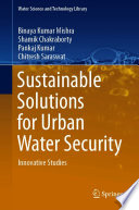 Sustainable Solutions for Urban Water Security