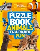 Puzzle Book Animals
