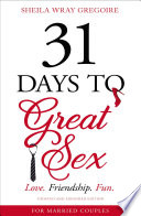 31 Days to Great Sex Book