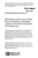 Environmental Health Criteria Book
