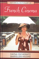 Pdf Historical Dictionary of French Cinema