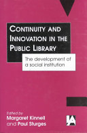 Continuity and Innovation in the Public Library