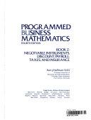 Programmed Business Mathematics