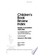 Children's Book Review Index: Title index