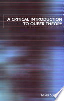 A Critical Introduction to Queer Theory Book