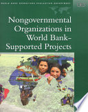 Nongovernmental Organizations In World Bank Supported Projects