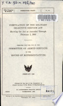 Compilation of the Military Selective Service Act