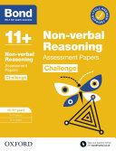 Bond 11   Bond 11  Non verbal Reasoning Challenge Assessment Papers 10 11 years