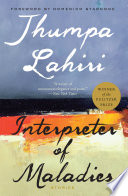 Interpreter of Maladies Jhumpa Lahiri Cover
