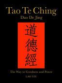 Tao Te Ching  Dao de Jing